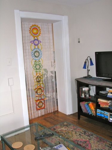 Chakra Beaded Curtain