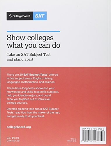 Pdf Teen The Official SAT Subject Test in Physics Study Guide (College Board Official SAT Study Guide)