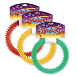 SPUNKEEZ PVC SPIKE RING 6'' ASST #35045, CASE OF 144