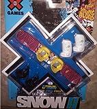 X Games Fingerboard Snowboard Burton Dominant Snowboard / Hail Boots