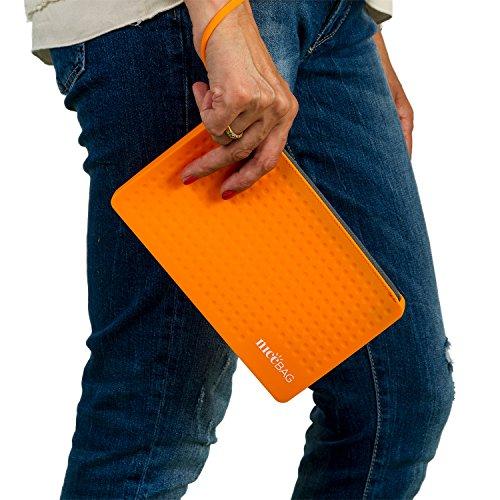 Arancione Calidad Manico Di Naranja Borsetta Verano Asa Bolso Con De Y Durata In Mano Silicona E Gran Nel Resistencia Qualità Silicone Tempo Alta L'estate gYfwqPg