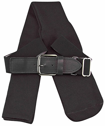 TCK Sports Baseball/Softball Belt & Socks Combo Set (Black, Small)