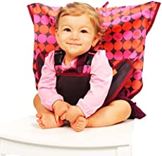 38b7e21b27c8 My Little Seat Travel Highchair - Pinky Buttons