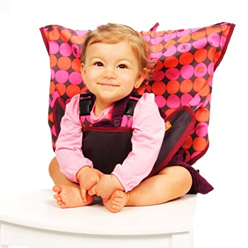 My Little Seat Travel Highchair - Pinky Buttons (My Little Travel High Chair)
