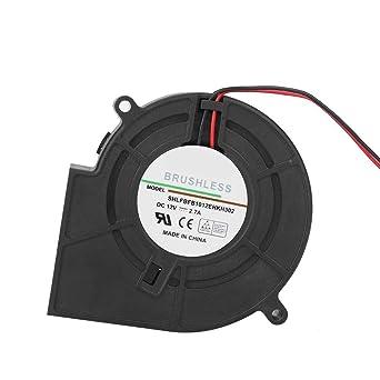 Soplador de aire de barbacoa portátil, 4500 RPM 12V 2.70A ...