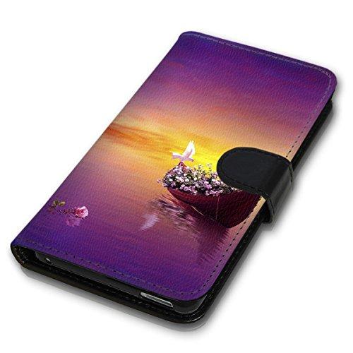 Wallet Book Style Flip Handy Tasche Case Schutz Hülle Schale Motiv Etui für Apple iPhone 4 / 4S - Design Flip MV38