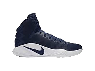 b775753ffe50 Nike Men's Hyperdunk 2016 TB Basketball Shoes 844368 442 Navy Blue Size 11