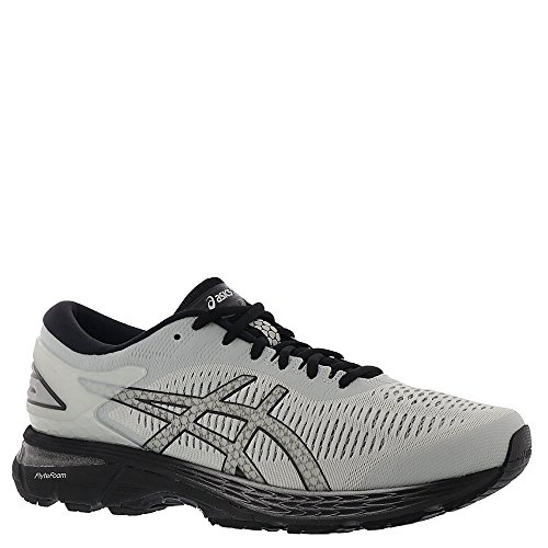 Gel Asics Runners (ASICS Gel-Kayano 25 Men's Running Shoe, Glacier Grey/Black, 12 4E US)