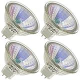 EYE JR1568, 50 Watt, MR16, Twist-Lock (GU5.3) Base Neodymium Light Bulb (4 Bulbs)