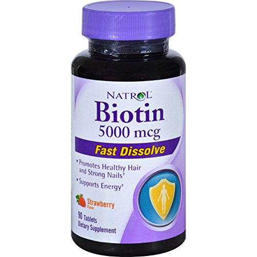 Natrol Biotin 5000 Dissolve Tablets