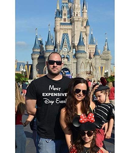 74fb24c8d Image Unavailable. Image not available for. Color: Most Expensive Day Ever,  Disney Best Day Ever, Disney, men's shirt ...