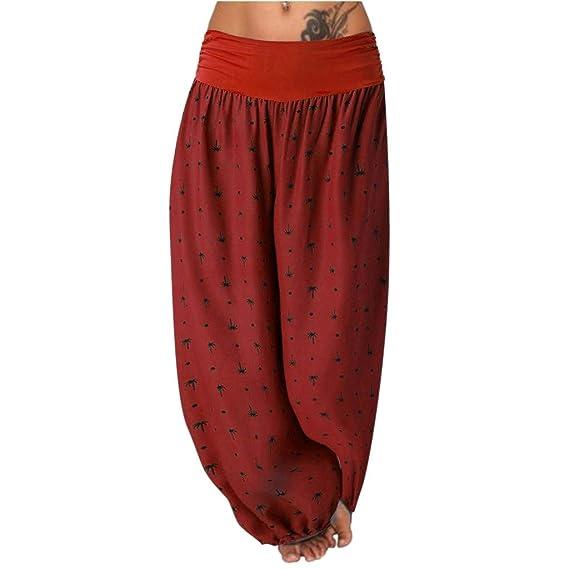 Luckycat Pantalones De Estilo Hippie De Mujer Vendimia del ...