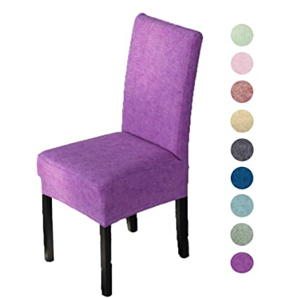 Image Unavailable Not Available For Color Fwarm Stretch Spandex Dining Room Chair Covers