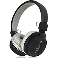 Generic Sh12 Wireless Bluetooth Headphone with FM and SD Card Slot Best Qulaity. (Black)