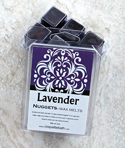 Lavender Nuggets Wax Melts, Strong classic herbal fragrance, 2 package deal, herbal fragrance ()