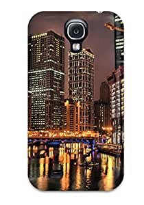 New Hdr Tpu Case Cover, Anti-scratch ZuIMskR7302ECuBi Phone Case For Galaxy S4