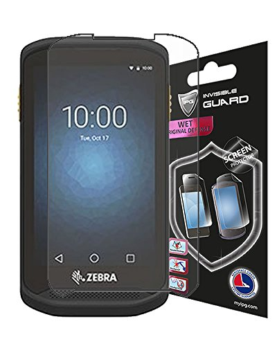 (Zebra TC20 / TC25 Series Handheld Mobile Computer Screen Protector 6 Units Invisible Guard Free Lifetime Replacement Warranty HD Clear Bubble -Free Screen Cover by IPG (Clear Shiny))