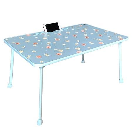 Srjh-Table Cama Plegable Mesa De Ordenador, Mesa Pequeña Mesa Kang ...