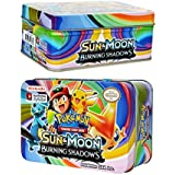 KidsDelight® Pokemon 42 Cards in 1, Sun & Moon Burning Shadows Card Game with Metal Box Latest Collector's 2018 Edition with surprise 32 Basic/ Stage 1 & 2 Cards + 4 Energy Cards,+ 3 Trainer Cards+ 3 Rare GX Cards