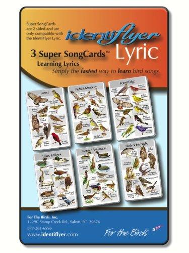 (Identiflyer Lyric 2 Super Song Cards)