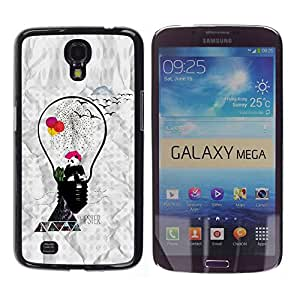 # Cellphone Hard Case PC Protective Cover Shell Case forSamsung Galaxy Mega 6.3 # Hipster Panda # Gift Phone Case Housing #