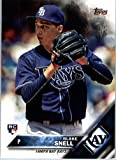 2016 Topps Update #US67 Blake Snell Tampa Bay Rays Baseball Rookie Card in Protective Screwdown Display Case