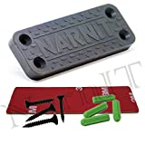 NarnIT Gun Magnet Tool Organizer - Rubber Coated Magnetic Gun Mount Concealed Holder for Handgun Shotgun Car Truck Home - 35Lb Strong Neodymium Magnets for Hidden Storage - Quick Access Accessories