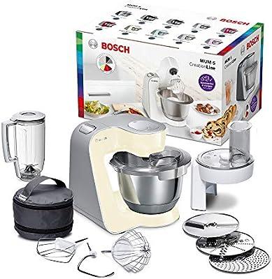 Bosch MUM58920 - Robot de cocina (1000 W, acero inoxidable), color beige: Amazon.es: Hogar