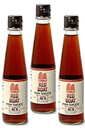 Red Boat Fish Sauce 40°N 250 ML (Pack of 3)