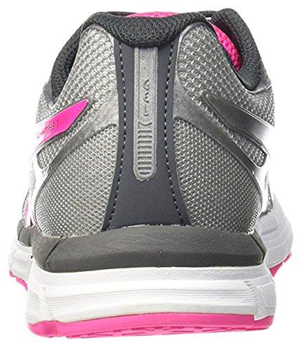 ASICS Gel-Hyper33 2 Zapatilla de Running Señora Plata / Rosa / Carbón