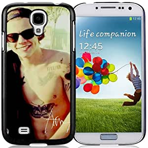Durable Galaxy S4 Case Design with Harry Styles 2 Black Phone Case for Samsung Galaxy S4 SIV S IV I9500 I9505