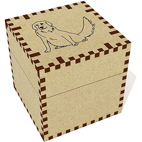 n Retriever Dog' Jewellery / Trinket Box (JB00031685) (Retriever Dog Stamp)