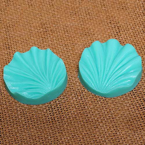 (1 Set 2PCS Deep Texture Peony Petal Silicone Molds for Cake Decorations Fondant Baking Tools for Cakes Confectionery Kitchen DIY)