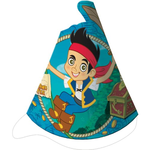 Jake and the Neverland Pirates Party Hats -