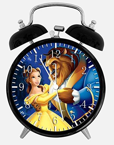 Beauty and the Beast Alarm Desk Clock 3.75