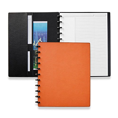 (Levenger Circa Impressions Sliver Notebook with Pockets )