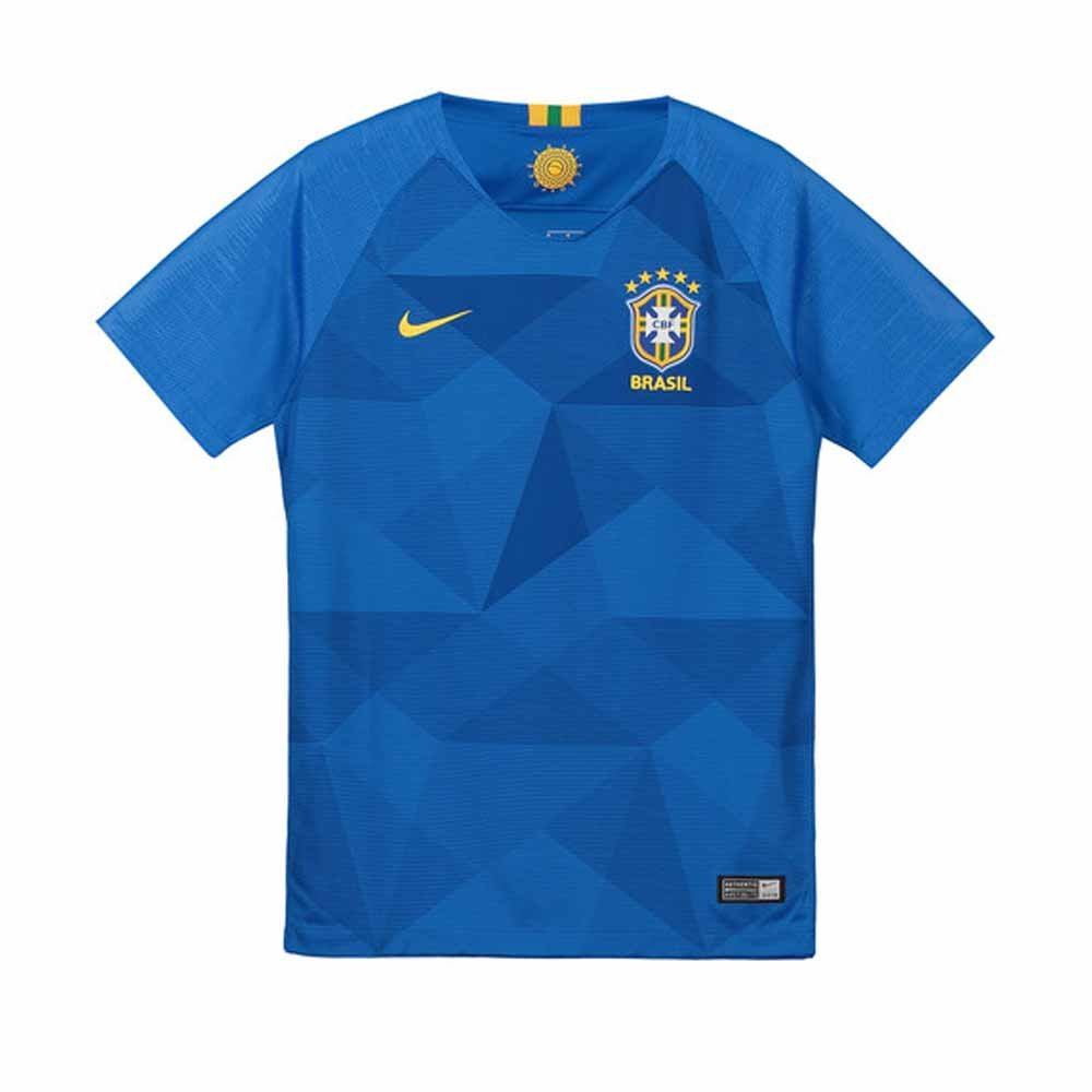 2018-2019 Brazil Away Nike Football Shirt (Kids) B07BZG5G91 LB 30-32