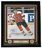 Eric Lindros Signed Framed 16x20 Philadelphia Flyers Photo HOF 16 JSA - 100% Authentic Autograph