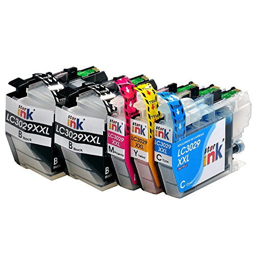 Starink LC3029 XXL Super High Yield Compatible Ink Cartridge Replace for Brother LC3029BK LC3029C LC3029M LC3029Y for MFC-J5830DW XL MFC-J6535DW XL MFC-J6935DW MFC-J5930DW (2BK,1C,1M,1Y, 5-Pack) Photo #2