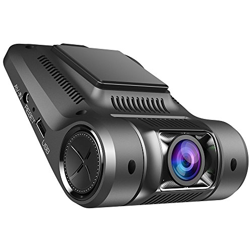 Vikcam Dash Cam, Dashbord Car Camera Recorder FHD 1080P with 2.45″ Screen and Sony Senor, 170 Wide Angle Lens Car DVR Built-In WiFi ,G-Sensor, WDR, Loop Recording and Supreme Night Vision