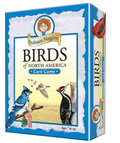 Professor Noggin's Birds of North America - A Educational Trivia Based Card Game For Kids