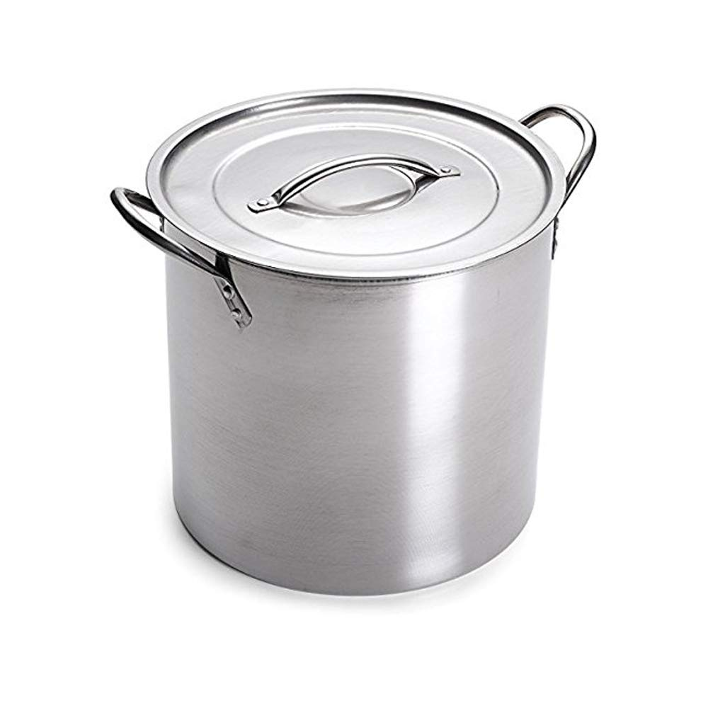 Stainless Steel Stock Pot, 20 quart with Lid