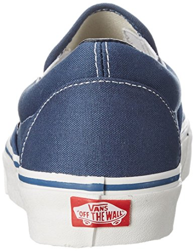on Canvas Slip Navy Trainers Vans Classic Adults' Unisex wUq4a6a