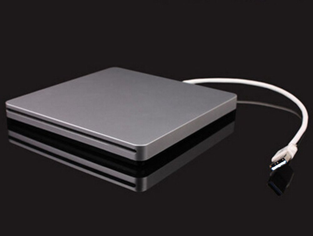 USB2.0 Combo External Slot-in CD RW Drive Burner DVD VCD CD Player Superdrive for Apple Macbook Pro Air iMAC