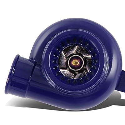 Minituare Spinnable Turbocharger Compressor Key Chain (Blue Coated): Automotive