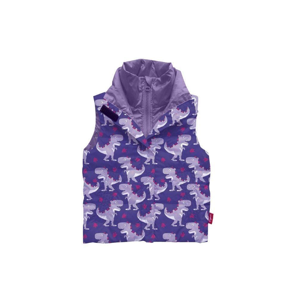 Car Seat Safety Road Coat Vegan Vest - Purple/Raptor by The Road Coat