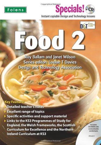 Read Online Secondary Specials! +CD: D&T - Food 2 pdf