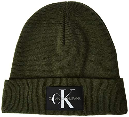 Calvin Klein Herren J Basic Men Knitted Beanie Strickmütze