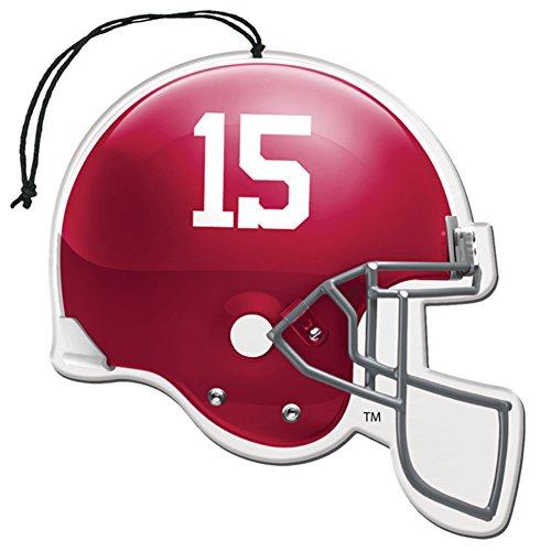 [해외]면허 NCAA 알라바마 크림슨 조수 뉴카 향기 헬멧 모양 공기 청정제 3 팩 세트 (선물 상자 포함)/Licensed NCAA Alabama Crimson Tide Nu-Car Scent Helmet Shape Air Freshener 3 Pack Set (Gift Box Included)