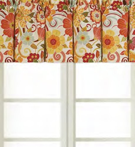 15.5x72 Valance, Giselle by C&F (Kitchen Valance Yellow compare prices)